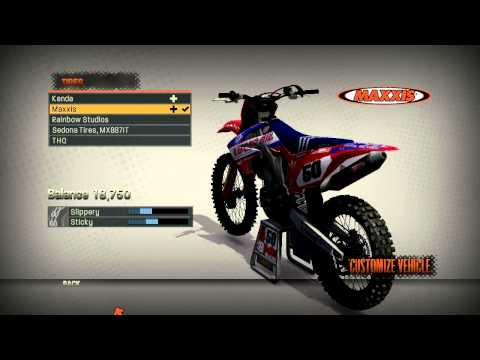 MX vs ATV REFLEX - New Graphics MY BIKE SETTINGS from YouTube · Duration:  5 minutes 7 seconds