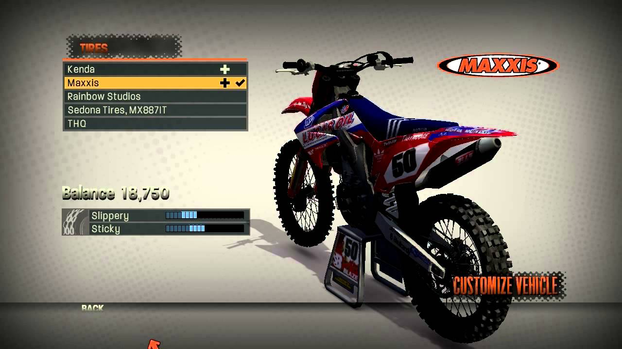 mx vs atv reflex new graphics my bike settings youtube. Black Bedroom Furniture Sets. Home Design Ideas
