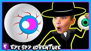 GIANT HobbySpy EYE Adventure! Part #3 with by HobbyKidsTV