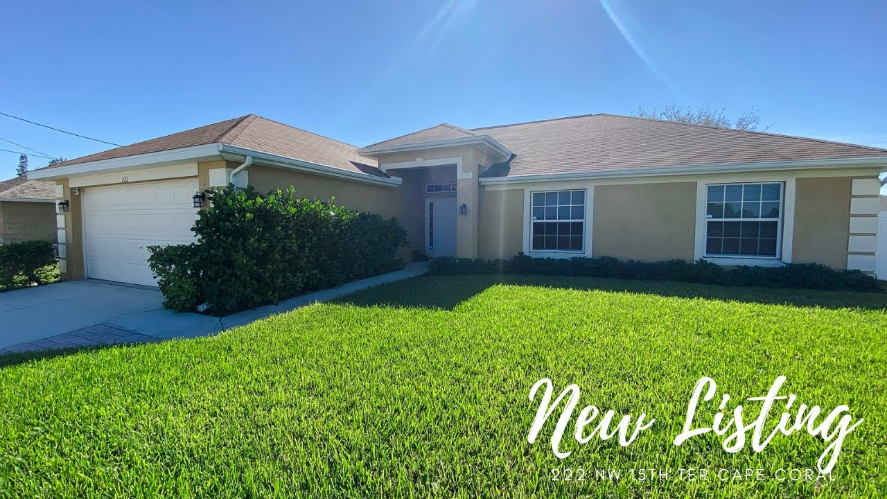222 NW 15TH TER CAPE CORAL, FL 33993