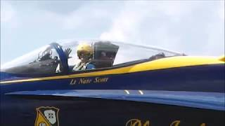 BLUE ANGELS 2017 - Latrobe Westmoreland County Airshow - F/A-18 Hornets
