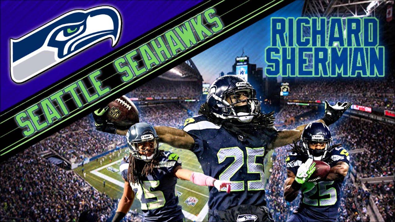 FREE NFL Richard Sherman Wallpaper - YouTube