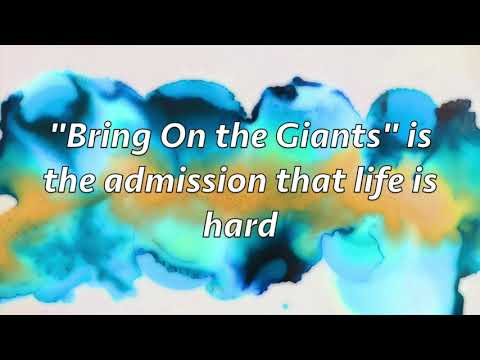 Bring On the Giants - Lyric Video