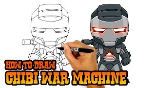 How to Draw War Machine | The Avengers