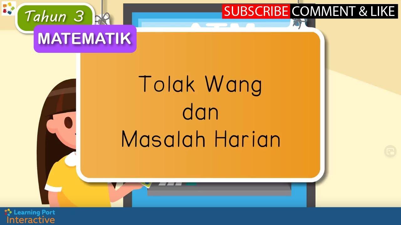 Matematik Tolak Wang Cute766