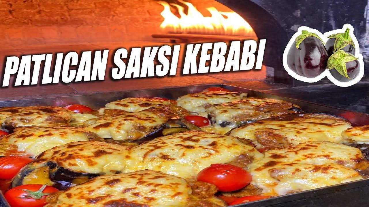 Patlıcan Saksı Kebabı Yaptık!!