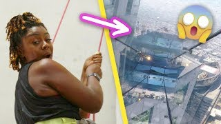 Women Face Their Fear Of Heights