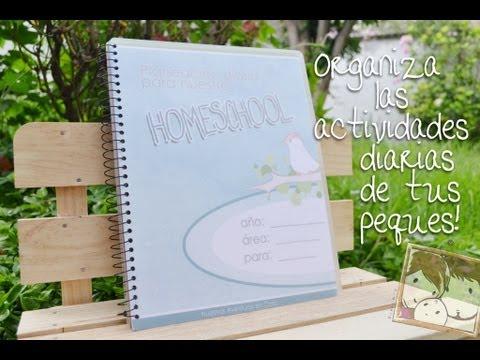 Como Organizar El Día A Día Del Homeschool Con Un Planner