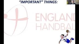 Webinar 10 Handball Progressing from junior to senior Handball  (Coach Development Webinar Series)