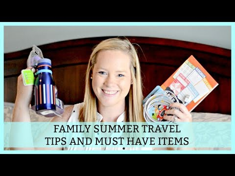 MUST HAVE SUMMER TRAVEL ITEMS