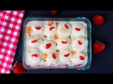 স্নোবল কাস্টার্ড || Snowball Fruit Custard Bangla || How To Make Snowball Custard || Custard