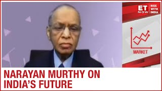 What is the future of growth in India?; overview by Narayan Murthy
