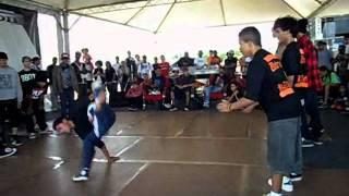 Bboy Xtreme 2011- UNDERGROUD KINGZS vs FAMILY FLAVA