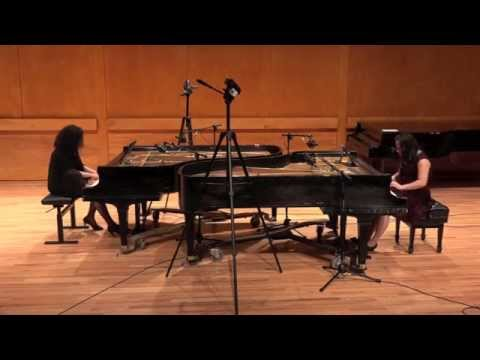John Cage: 3 Dances, for two prepared pianos (Ali and Leung)