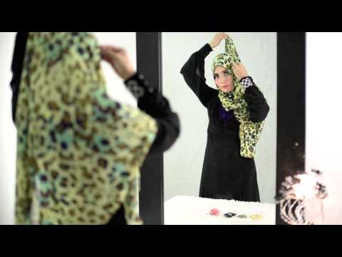 RANIAA Shawl Video Tutorial by Chenta Qaseh