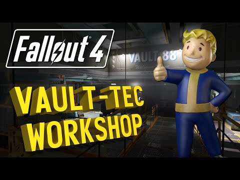 FALLOUT 4 Vault-Tec Workshop: Quest synopsis, New Items, and My Review