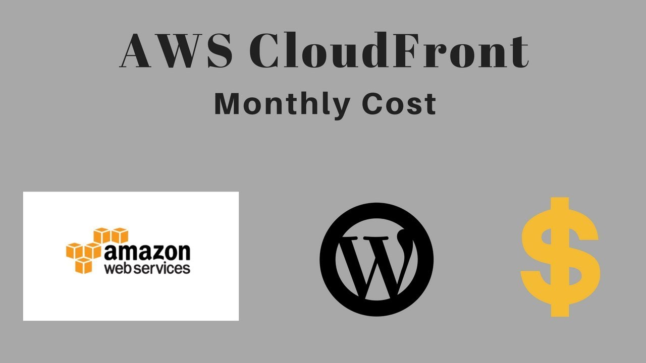 AWS EC2 Pricing: Hosting A WordPress Blog - YouTube
