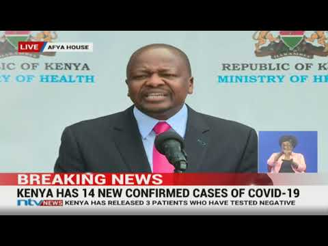 UPDATE: Prepare For Bad News, CS Mutahi Kagwe Says As He Announces New Cases