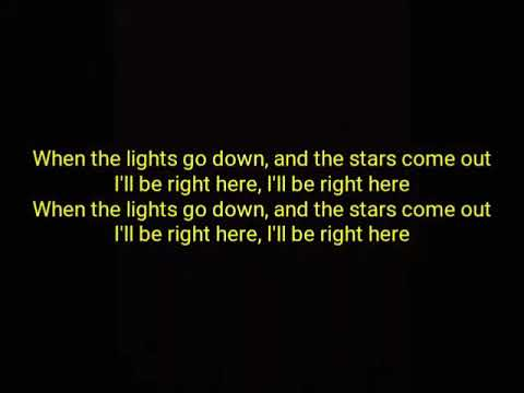 Kungs, Stargate - Be Right Here (Ft. GOLDN)    [Official Lyrics]