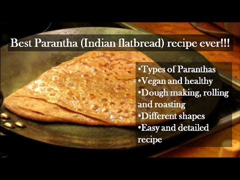 6 Types of Parantha (Indian flatbread) : must watch recipe✔