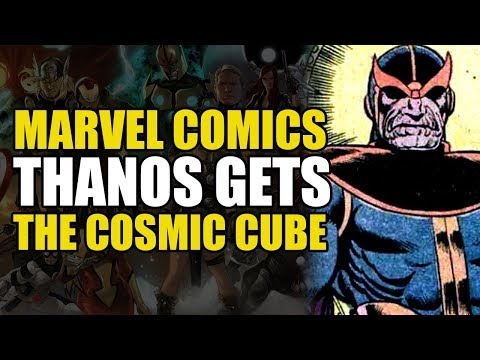 Thanos War Book 1: Thanos Gets The Cosmic Cube!