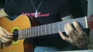 How to Play ~Guajira~ A.K.A 'Cha Cha Cha' on the Guitar! ( P2 )