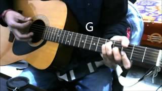 orrey mon ayushmann khurrana guitar cover lesson chords easy version ritabhari chakraborty