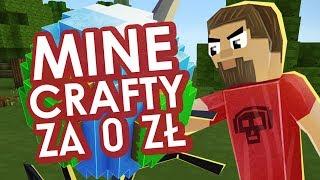 Minecrafty za 0 zł - darmowe podróbki szyte grubymi nićmi
