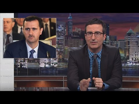 Last Week Tonight with John Oliver - iTunes, Assad, and Right Said Fred (HBO)