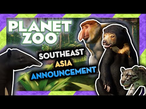 Planet Zoo: Southeast Asia Animal Pack Announcement - 8 New Animals! |
