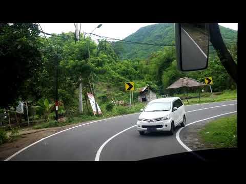 Perjalanan Bus dari Gili Trawangan menuju bandara Lombok