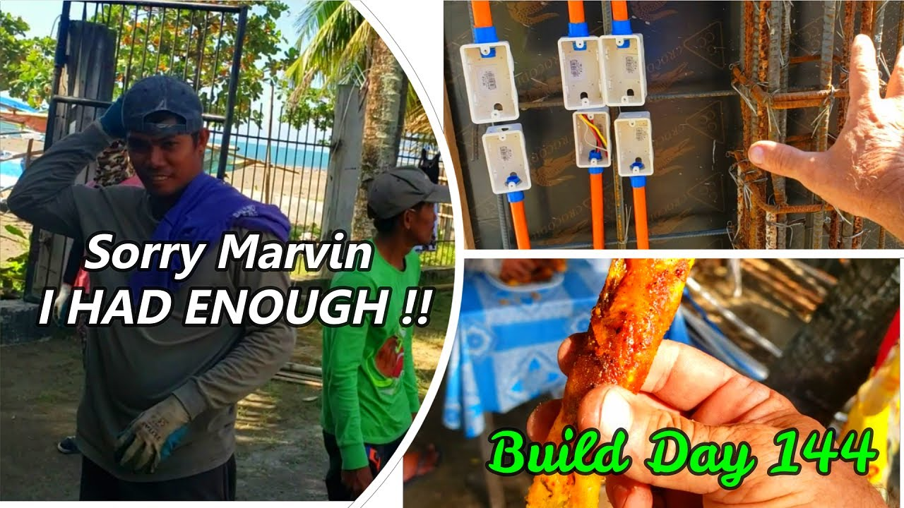Philippines Beach House Build Day 144 : New Walls New Horizon's / Marvin This is it!