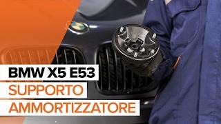 Come sostituire supporto ammortizzatore BMW X5 E53 [VIDEO TUTORIAL DI AUTODOC]