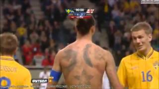 zlatan ibrahimovic amazing goal sweden vs england 4 2 hd