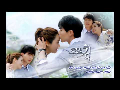 Hotel King OST - Because it's you TR Sub