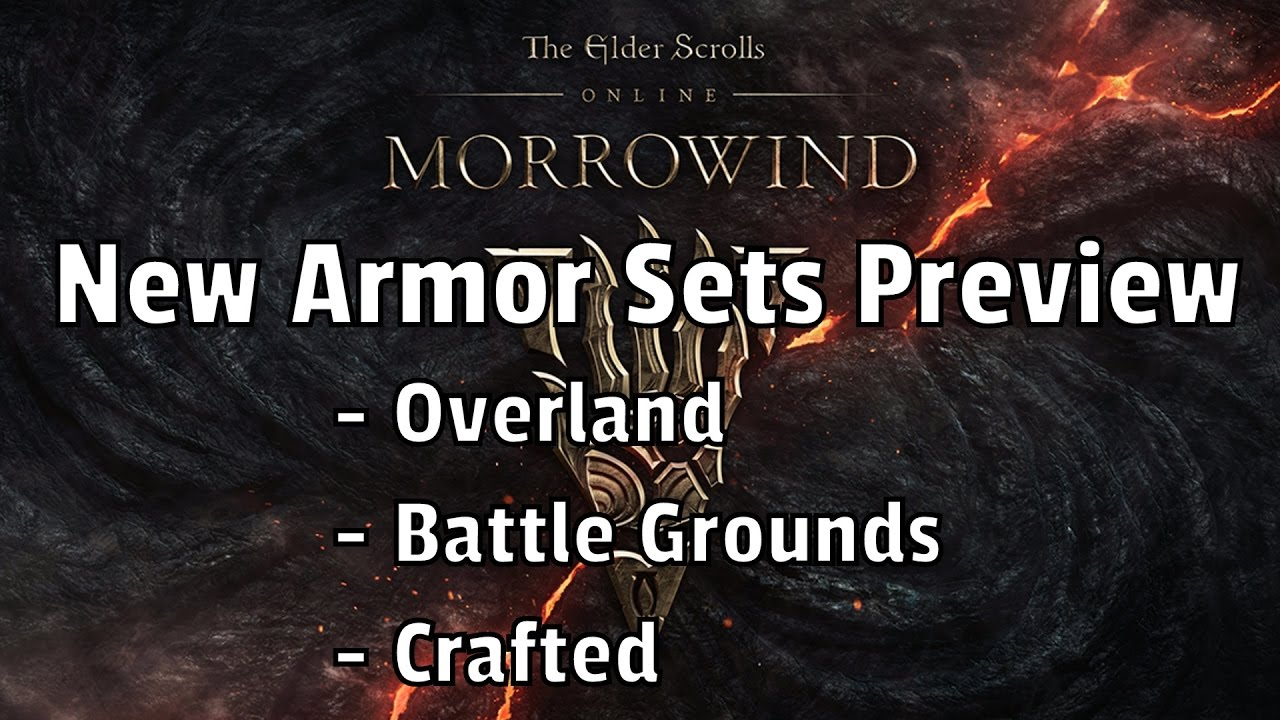 New Morrowind Crafted Sets