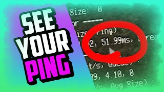 HOW TO SEE YOUR PING IN ROBLOX (Quick and easy!) - Roblox How To Check Your Ping Working 2019