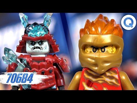 164 Pieces LEGO NINJAGO Spinjitzu Slam Kai vs Samurai 70684 Building Kit
