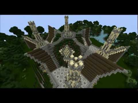 Minecraft Timelapse - The Library of Amber