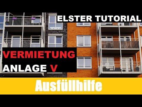 Anlage V | Elster Tutorial | Vom Ankauf bis zum Verkauf Immobilien und Steuern