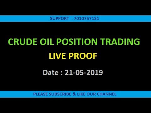 AUTO TRADING. CRUDE OIL POSITIONAL. PROFIT 25000