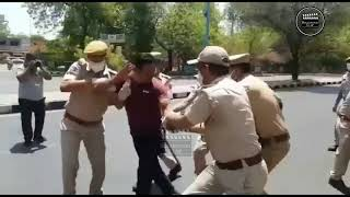 Jodhpur Police Shoot A Video To Make People Aware Of The Consequences Of Not Wearing A Mask!