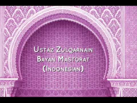 Ustaz Zulqarnain - Bayan Mastorat (Very Emotional Bayan)