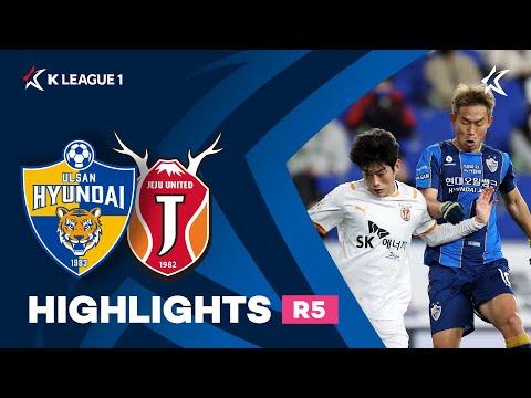 Ulsan Hyundai Jeju Utd Goals And Highlights