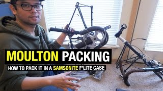 HOW TO: Packing a Moulton in a Samsonite Case For Airline Travel