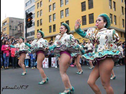 Sexy Caporales Sayas, en honor a la Virgen de Copacabana