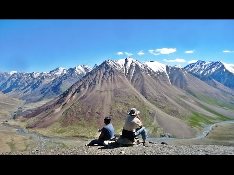 Trekking to the Kilik and Mintika Pass located in Misgar-Gojal, Hunza