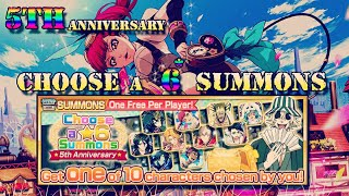 Bleach Brave Souls: ✨5th Anniversary Choose a 6* Summons!!✨
