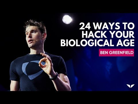 24 Ways To Hack Your Biological Age From Ancient Wisdom & Modern Science | Ben Greenfield