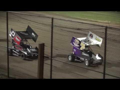 Micro Sprint feature Marshalltown Speedway 5/26/17
